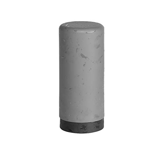 Cabilock 240 ML Silicone Squeeze Bouteille Vide Portable Voyage en Plastique De Stockage Porte-Bouteille pour Cosmétiques Liquide Savon (Gris)