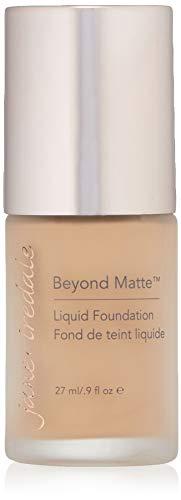 jane iredale Beyond Matte 3-in-1 Liquid Foundation, Long-wear, Buildable Coverage, Vegan, Clean, Cruelty Free, Semi Matte Finish, M6