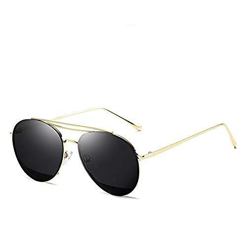 QIERK Gafas de Sol Ronda Costera Plasta Solar Espacio polarizado Pesca Pesca Sra. Gafas de Sol Polarizadas Tendencias Polarizando Las Gafas de Sol