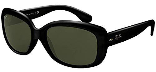 Ray-Ban Jackie Ohh RB 4101 - Juego de gafas de sol, color negro y verde