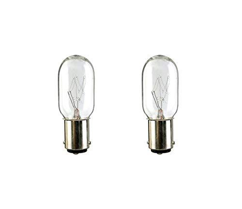 2 Vacuum Light Bulb for Kenmore 20-52410 or 5240 Powermate Progressive 4370018, fits Eureka, Filter Queen Majestic