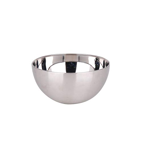 Urban living Saladier en INOX Silver - Diam. 15 cm - Argent