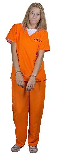 I Love Fancy Dress ilfd4563 x s Unisexe Prisonnier Costumes (XS)