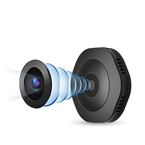 Mini Cámara - Detección De Movimiento por Infrarrojos Nocturna Inalámbrica WiFi 1080P HD Visión Pet Home Office Cubierto Seguridad Monitor De La Cámara 150 ° Gran Angular