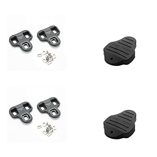 Pedales Bicicleta Clases de bicicleta de carretera compatibles con el sistema de autobloqueo de la mirada zapatos de pedales de ciclismo-Accesorios de pedal de bicicleta de 4.5 grados Pedales Biciclet