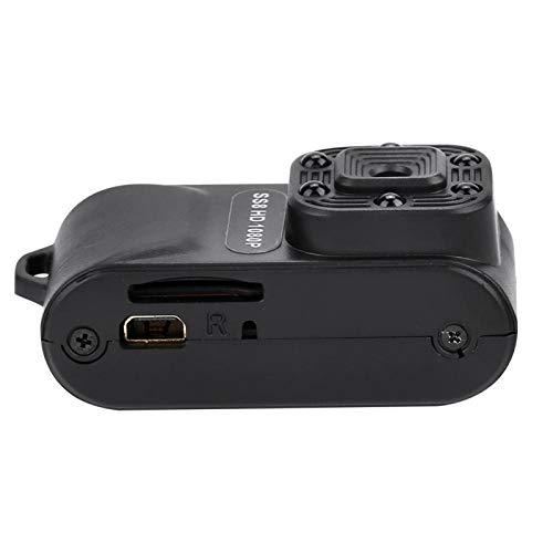 DAUERHAFT Adopta Good Sensor Soporta Loop Record Mini Camera Mini Comcorder, para grabación de Datos de automóviles