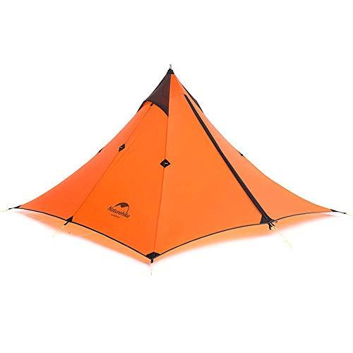 Tienda, montañismo tienda de campaña Minarete Doble Tienda Doble Tienda al aire libre Camping Viento y lluvia Perrero solar Tienda impermeable Adecuado para deportistas al aire libre Camping, jinyang