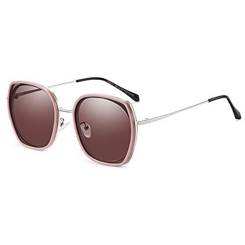 GUANGE Gafas de sol polarizadas para mujer, de gran tamaño, protección UV400, para conducir, ciclismo, golf, pesca, correr, vela, esquí, regalos para damas, color marrón