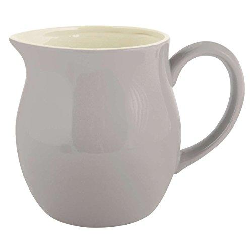 Großer Krug Kanne Wasserkanne Milchkanne Keramik 'French Grey' IB Laursen