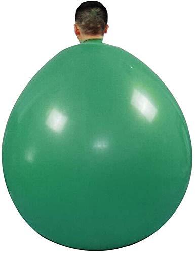 Kinhevao Látex de la Subida en Globo, de 48 Pulgadas de látex de la Subida en Globo, 48inch Gruesas Latexballoons, por Divertido Juego, balón (Rojo) (Color : Green)