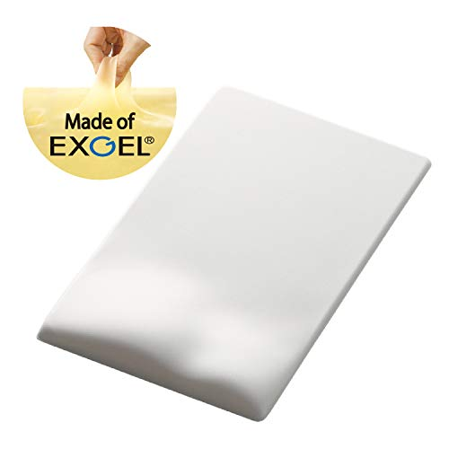 ELECOM-Japan Brand- Mouse Pad FITTIO Low Type/Reduce Wrist Fatigue and Pain/Black MP-115BK