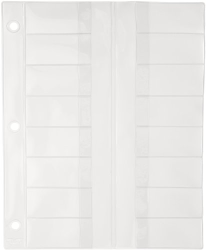 SP Bel-Art Microscope Slide Holder Pages; 8½ x 10½ in. (Pack of 10) (F44171-0000)