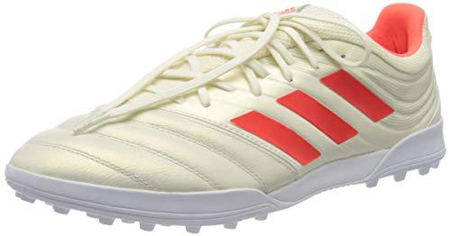 Adidas Copa 19.3 TF, Botas de fútbol para Hombre, Multicolor (Casbla/Rojsol/Ftwbla 000), 42 EU