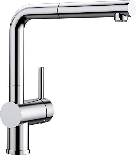 Blanco Linus-S Küchenarmatur, chrom, Niederdruck, 512200
