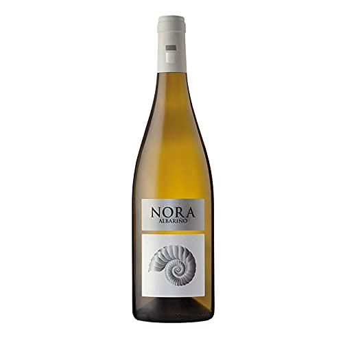 Vino blanco Albariño Nora de 75 cl - D.O. Rias Baixas - Bodegas Viña Nora (Pack de 1 botella)