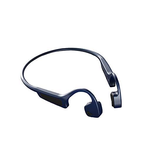 Amplificador De Sonido Auriculares De Conducción De Hueso Inalámbrico Bluetooth Auriculares Auriculares Deporte Impermeable Auriculares Inalámbricos Bluetooth,Azul