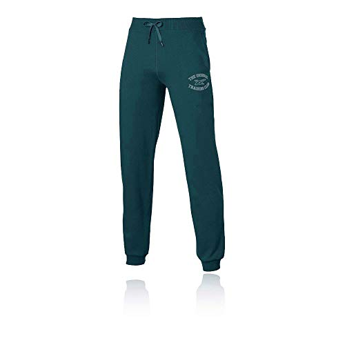 ASICS Graphic Cuffed Tracksuit Bottoms - Small Blu