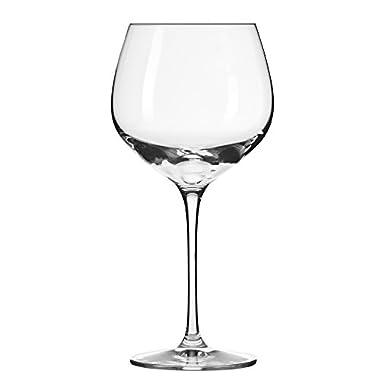 Household Essentials KROSNO Nina Red Wine Glasses (Set of 6), 19 oz, Clear