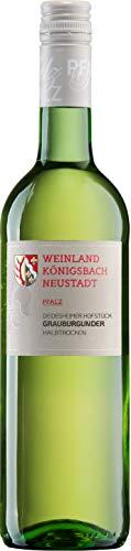 Grauer Burgunder Kabinett halbtrocken - Weinland Königsbach-Neustadt