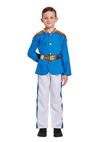 Henbrandt Kostüm Junge Prinz Kostüm Alter 10 - 12 Jahre
