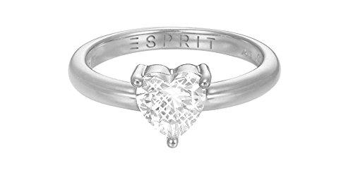 ESPRIT Damen-Ring Valetins Special 2016 925 Silber Zirkonia weiß