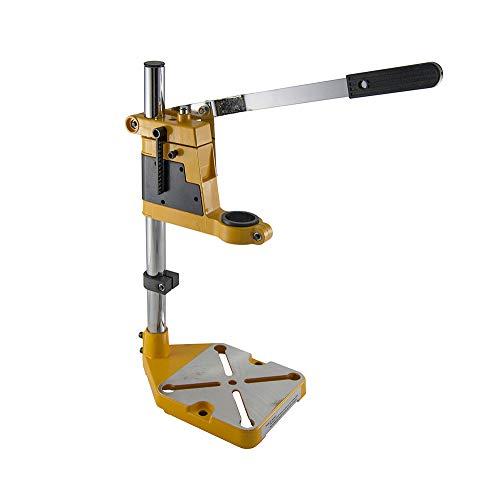 Hoteche 300801 Soporte para taladro, Naranja y metal, 40cm