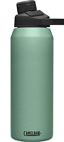 CAMELBAK Unisex– Erwachsene Chute Mag SST Vacuum Insulated Trinkflasche, Moss, 32oz