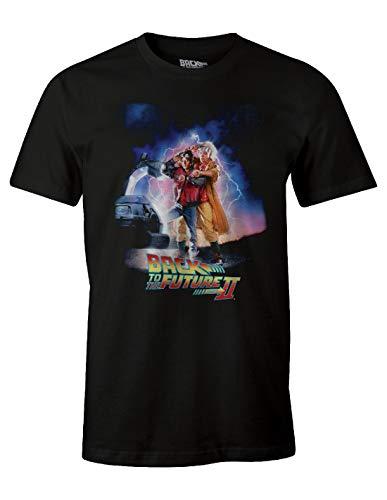 Tshirt homme Retour vers le Futur - Doc & Marty XXL