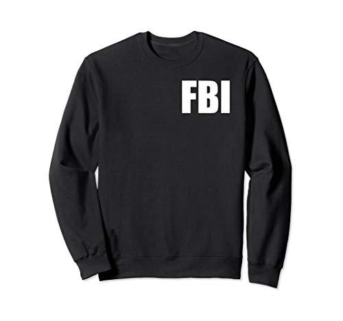 FBI Shirt, Federal Bureau of Investigation Brust Logo Sweatshirt