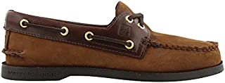 Sperry Top-Sider Authentic Original Leather Boat Shoe Men 15 Brown Buck