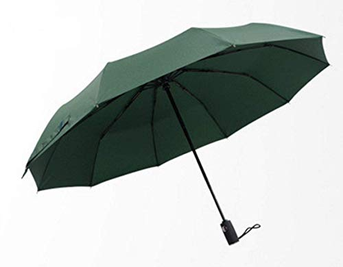 ZENGZHIJIE Paraguas Paraguas Plegable Paraguas Paraguas Compacto Paraguas Viento Viento Viento - Paraguas Verde
