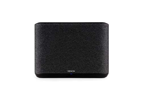 Denon Home 250 Multiroom-Lautsprecher, HiFi Lautsprecher mit HEOS Built-in, WLAN, Bluetooth, USB, AirPlay 2, Hi-Res Audio, Alexa kompatibel, schwarz