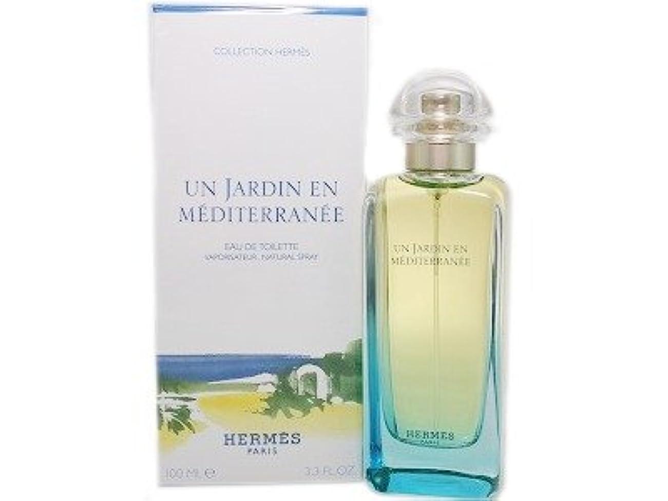 底素敵な手のひらHERMES エルメス 地中海の庭 オードトワレ 100ml EDT (並行輸入品)