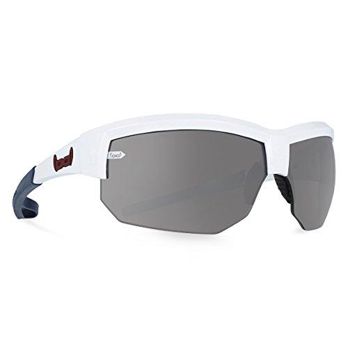 gloryfy unbreakable eyewear Sonnenbrille G4 RADICAL white, weiß