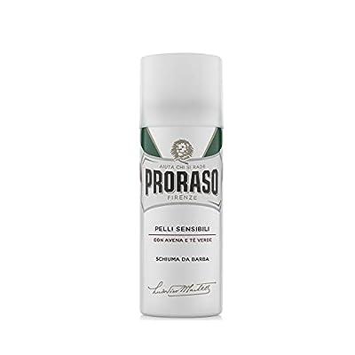 Proraso White Soothing Shaving Foam, 1er Pack (1 x 50 ml)