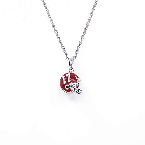 University of Alabama Necklace | Crimson Tide Charm Pendant with Chain | Alabama Stainless Steel Charm | Alabama Gifts