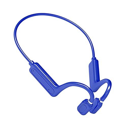 B Blesiya G1 Knochen leitung Headset offenes Ohr Schweiß fest Stereo-Gesundheits hygiene Kopfhörer Premium Sound Flexibel zu tragen Wireless für iOS und - Blau