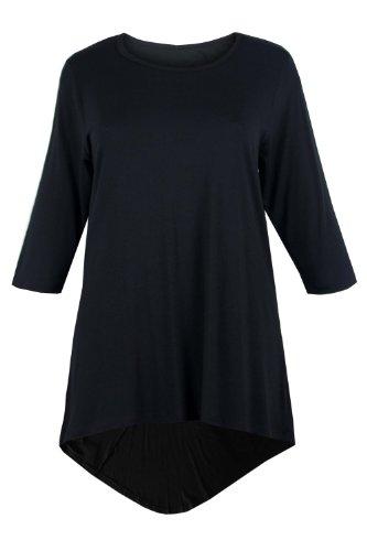 Women Plus Size Foil Design Victorian Print Blouse Tunic Top 1X 2X 3X