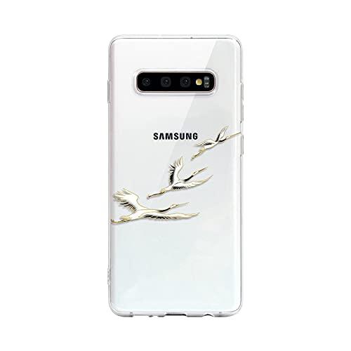 Carcasa para Samsung Galaxy S20, S21 Plus, Ultra S9, S10, A30, A32, A50, A51, A52, A70, A72, Note 9, 10, 20, transparente, 02, A32, 5G