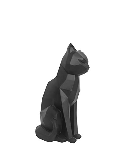 Present Time - Statue Chat Noir Assis Origami