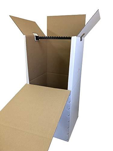 ハンガーボックス(エコノミータイプ/折れ線入り)4枚セット ※個人宅配送可能商品