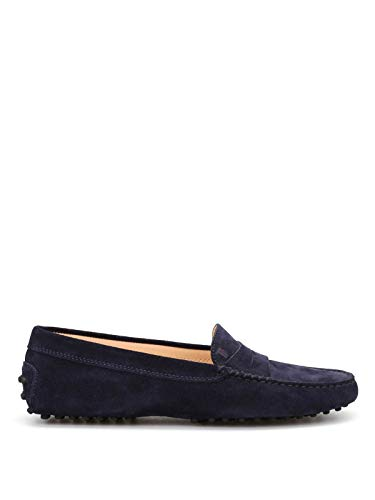 Tod's Luxury Fashion Damen XXW00G00010RE0U824 Blau Mokassins | Jahreszeit Permanent