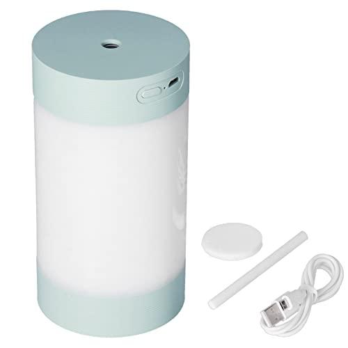 Eosnow Purificador Colorido del Aire del Coche del USB, Sincronización Inteligente del Humidificador Colorido del Coche para El Dormitorio Casero del Coche(Verde)