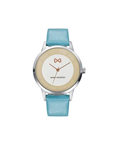Reloj Piel Azul Turquesa Mark Maddox señora.MC7116-97