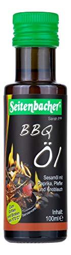 Seitenbacher Bio BBQ Öl rein nativ, kaltgepresst/1. Pressung, 1er Pack (1 x 100 ml)