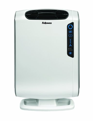 AeraMax DX55 Air Purifier with True HEPA Carbon Filter-Removes 99.97% of Airborne Particles, Odours, Captures Allergies, Pollen, Mold, Pet Dander, Bacteria and Smoke, White