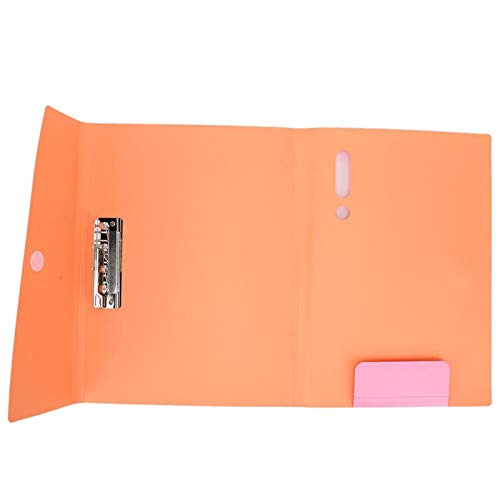 Carpeta de archivos de color A3 fácil de transportar Carpeta de archivos de 100 hojas para documentos de oficina(W-C0012 powder)