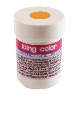 Dekora Pasta alimenticia colorante para Crema, glaseado Color Naranja. Tarro de 30 gr
