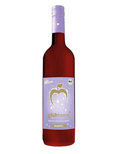 Elbler Vino, Sin Alcohol, 1 X 0,75 L, Vino Caliente De Bayas Orgánicas, Vino Caliente de Frutas Hecho Con Frutas Orgánicas, Con Extractos de Invierno de Vainilla, 100% Jugo Directo
