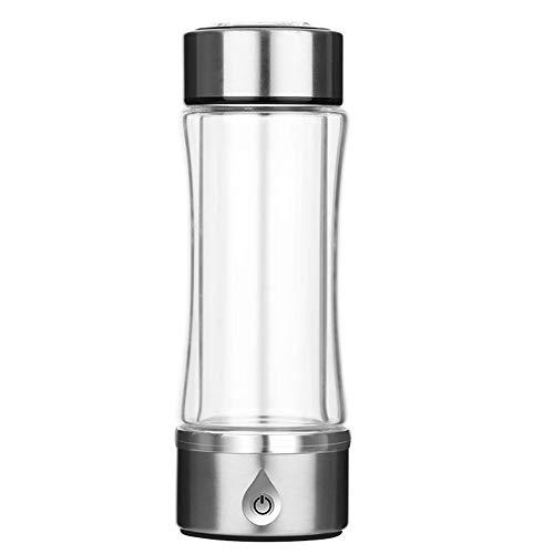 HEN'GMF Wasserstoffreiches Wasserbecher, Selbstreinigend, Elektrolysiert Anion, Antialterung Antioxidans, Hohe Wasserstoffkonzentration, Wasserfilter, USB-Aufladung.
